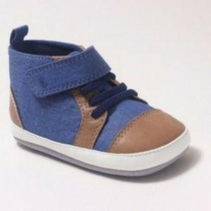 NWT Baby Boys' Denver High Top Sneaker Mini Shoes